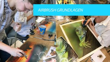Airbrush Seminar am 23. & 24 Februar 2019 in Hamburg
