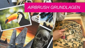 Airbrush Seminar am 08.-09. September 2018 in Langerwehe